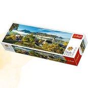 Puzzle 1000 Panorama Nad jeziorem Schliersee