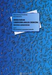 Chemia ogólna i jakościowa analiza chemiczna Ćwiczenia laboratoryjne