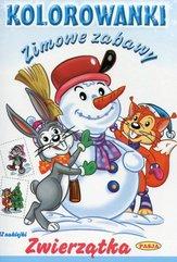 Zimowe zabawy Zwierzątka