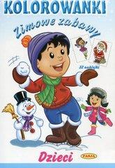 Zimowe zabawy Dzieci