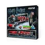 Puzzle 3D Wrebbit Harry Potter Hogwarts Express 460
