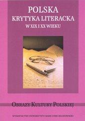 Polska krytyka literacka w XIX i XX wieku