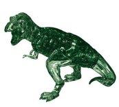 Dinozaur T-rex (zielony) Crystal Puzzle 3D
