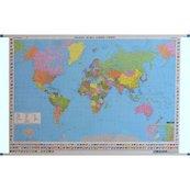 Mapa ścienna Świat polityczna 1:35 000 000