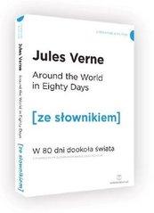 W 80dni dookoła świata wersja angielska z podręcznym słownikiem