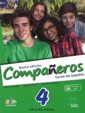 Companeros 4 Podręcznik + licencia digital - nueva edicion
