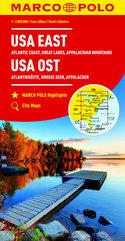 USA Wschód Appalachy Wybrzeże Atlantyckie 1:2 000 000