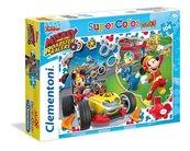 Puzzle SuperColor Maxi 104 Mickey Roadster