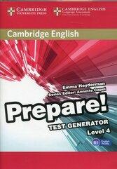 Cambridge English Prepare! 4 Test Generator CD-ROM
