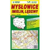 Mysłowice Imielin Lędzin mapa 1:20 000