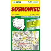 Sosnowiec mapa 1:20 000