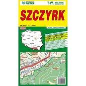 Szczyrk mapa 1:17 000