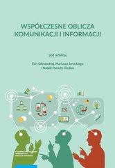 Współczesne oblicza komunikacji i informacji Przestrzeń informacyjna nauki