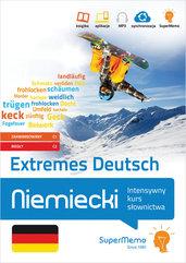 Niemiecki Extremes Deutsch. Intensywny kurs słownictwa (poziom zaawansowany C1 i biegły C2)