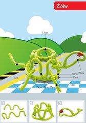 Gra Edukacyjna Tęczowe Zakręcone Druciki 61 elementów