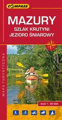 Mazury - Szlak Krutyni, J. Śniardwy Mapa turystyczna 1:60 000