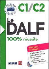 DALF C1/C2 100% reussite Książka + płyta MP3