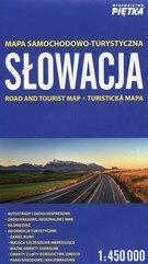 Słowacja mapa samochodowo-turystyczna 1:450 000