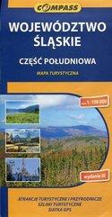 Województwo Ślaskie część południowa mapa turystyczna 1:100 000