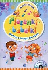 Piosenki - bąbelki Książka z płytą CD