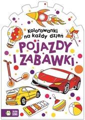 Kolorowanki na każdy dzień Pojazdy i zabawki