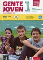 Gente Joven 1 Język hiszpański 7 Podręcznik z płytą CD