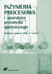 Inżynieria procesowa i aparatura przemysłu spożywczego