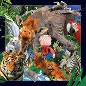 Magnes 3D - Dzikie zwierzęta