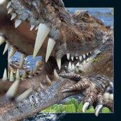 Magnes 3D - Krokodyl