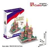 Puzzle 3D Katedra Św. Wasyla