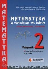 Matematyka w otaczającym nas świecie 2 Podręcznik Zakres podstawowy i rozszerzony