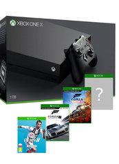 Konsola Xbox One X + FIFA 19 + Forza Motorsport 7 + Forza Horizon 4 + gra-niespodzianka