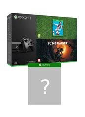 Konsola Xbox One X + Shadow of the Tomb Raider + FIFA 19 + gra-niespodzianka