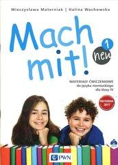 Mach mit! neu 1 Materiały ćwiczeniowe klasa 4