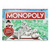Monopoly Edycja Standard 2017 z nowymi pionkami (gra planszowa)