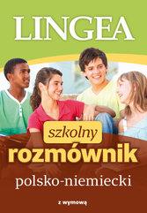 Szkolny rozmównik polsko-niemiecki z wymową