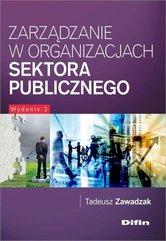 Zarządzanie w organizacjach sektora publicznego
