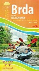 Brda mapa kajakowa 1:75 000