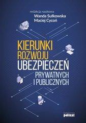 Kierunki rozwoju ubezpieczeń prywatnych i publicznych