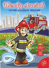 Wesoły strażak