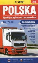 Polska Najbardziej szczegółowa mapa samochodowa Polski 1:700 000 dla profesjonalistów