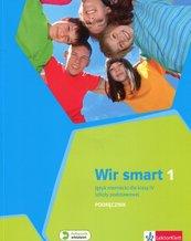 Wir Smart Językniemiecki 1 Podręcznik dla klasy IV z płytą CD