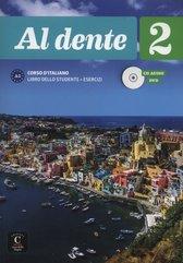 Al dente 2 Corso d'italiano Podręcznik z ćwiczeniami + CD +DVD