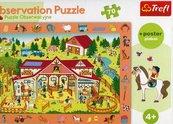 Puzzle 70 Obserwacyjne Odwiedzamy stadninę koni