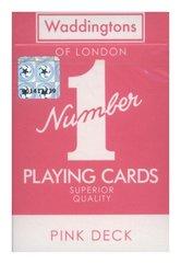 Karty do gry Waddingtons Pink Deck - wersja angielska