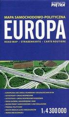 Europa mapa samochodowo-polityczna 1:4 300 000