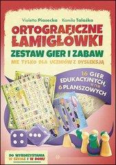 Ortograficzne łamigłówki Zestaw gier i zabaw