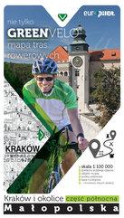 Kraków i okolice- część północna mapa tras rowerowych