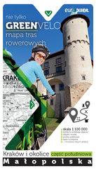 Kraków i okolice - część południowa mapa tras rowerowych