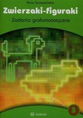 Zwierzaki figuraki 3 Zadania grafomotoryczne